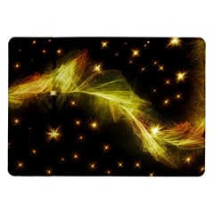 Particles Vibration Line Wave Samsung Galaxy Tab 10 1  P7500 Flip Case