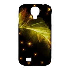 Particles Vibration Line Wave Samsung Galaxy S4 Classic Hardshell Case (pc+silicone)