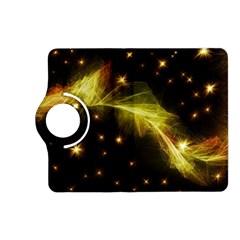 Particles Vibration Line Wave Kindle Fire Hd (2013) Flip 360 Case