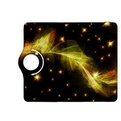 Particles Vibration Line Wave Kindle Fire Hdx 8 9  Flip 360 Case