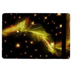 Particles Vibration Line Wave iPad Air Flip