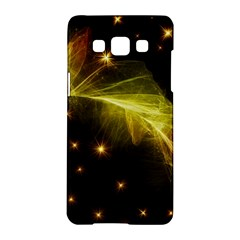 Particles Vibration Line Wave Samsung Galaxy A5 Hardshell Case