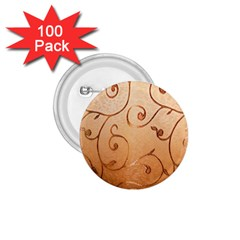 Texture Material Textile Gold 1 75  Buttons (100 Pack)