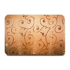 Texture Material Textile Gold Plate Mats
