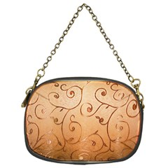 Texture Material Textile Gold Chain Purses (one Side)