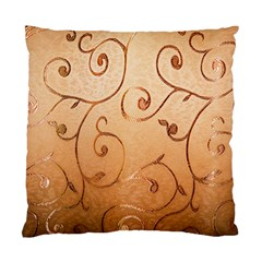 Texture Material Textile Gold Standard Cushion Case (Two Sides)