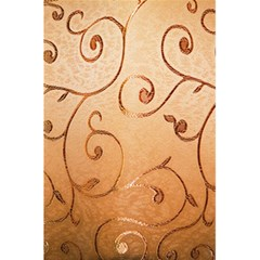 Texture Material Textile Gold 5 5  X 8 5  Notebooks