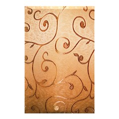 Texture Material Textile Gold Shower Curtain 48  X 72  (small)