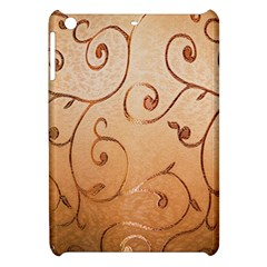 Texture Material Textile Gold Apple Ipad Mini Hardshell Case