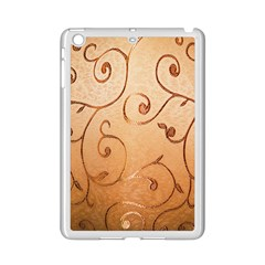 Texture Material Textile Gold Ipad Mini 2 Enamel Coated Cases
