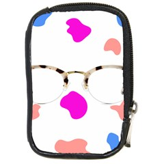 Glasses Blue Pink Brown Compact Camera Cases