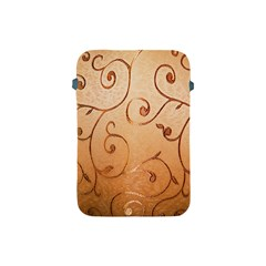 Texture Material Textile Gold Apple Ipad Mini Protective Soft Cases