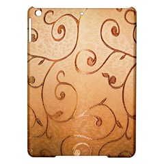 Texture Material Textile Gold Ipad Air Hardshell Cases