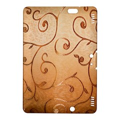 Texture Material Textile Gold Kindle Fire HDX 8.9  Hardshell Case