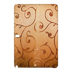 Texture Material Textile Gold Samsung Galaxy Tab Pro 10 1 Hardshell Case