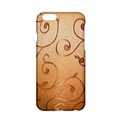 Texture Material Textile Gold Apple Iphone 6/6s Hardshell Case