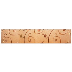 Texture Material Textile Gold Flano Scarf (small)