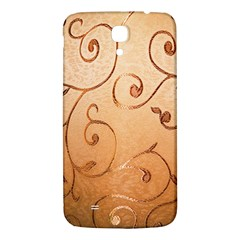 Texture Material Textile Gold Samsung Galaxy Mega I9200 Hardshell Back Case