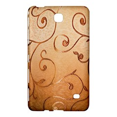 Texture Material Textile Gold Samsung Galaxy Tab 4 (7 ) Hardshell Case