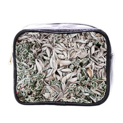 Ice Leaves Frozen Nature Mini Toiletries Bags