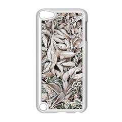 Ice Leaves Frozen Nature Apple Ipod Touch 5 Case (white)