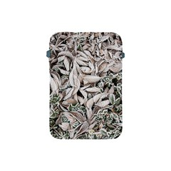 Ice Leaves Frozen Nature Apple Ipad Mini Protective Soft Cases