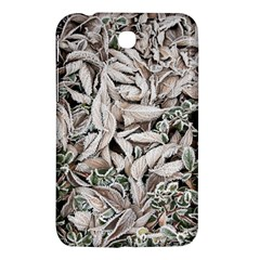 Ice Leaves Frozen Nature Samsung Galaxy Tab 3 (7 ) P3200 Hardshell Case