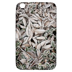 Ice Leaves Frozen Nature Samsung Galaxy Tab 3 (8 ) T3100 Hardshell Case