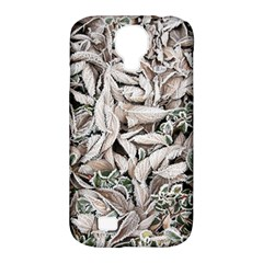 Ice Leaves Frozen Nature Samsung Galaxy S4 Classic Hardshell Case (pc+silicone)