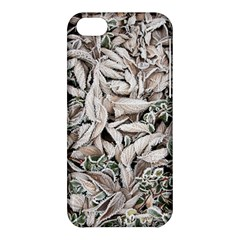 Ice Leaves Frozen Nature Apple Iphone 5c Hardshell Case