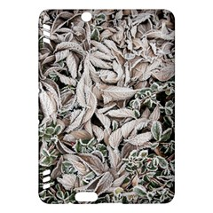 Ice Leaves Frozen Nature Kindle Fire Hdx Hardshell Case
