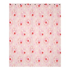 Flower Arrangements Season Pink Shower Curtain 60  X 72  (medium)