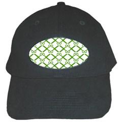 Scissor Green Black Cap