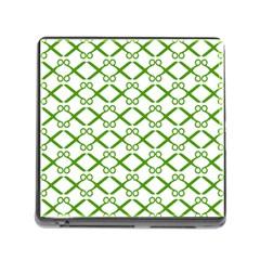 Scissor Green Memory Card Reader (Square)