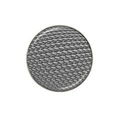 Mandelbuld 3d Metalic Hat Clip Ball Marker