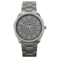 Mandelbuld 3d Metalic Sport Metal Watch