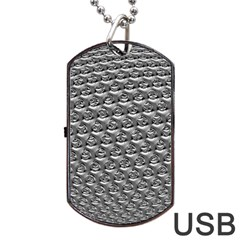 Mandelbuld 3d Metalic Dog Tag USB Flash (One Side)