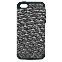 Mandelbuld 3d Metalic Apple Iphone 5 Hardshell Case (pc+silicone)