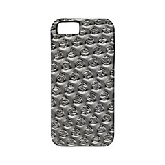 Mandelbuld 3d Metalic Apple Iphone 5 Classic Hardshell Case (pc+silicone)