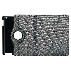 Mandelbuld 3d Metalic Apple Ipad 2 Flip 360 Case