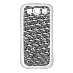 Mandelbuld 3d Metalic Samsung Galaxy S3 Back Case (White)