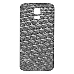 Mandelbuld 3d Metalic Samsung Galaxy S5 Back Case (white)