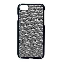 Mandelbuld 3d Metalic Apple Iphone 7 Seamless Case (black)