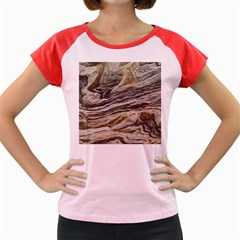 Rock Texture Background Stone Women s Cap Sleeve T-Shirt