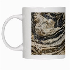 Rock Texture Background Stone White Mugs