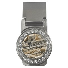 Rock Texture Background Stone Money Clips (cz)