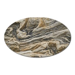 Rock Texture Background Stone Oval Magnet