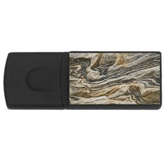Rock Texture Background Stone USB Flash Drive Rectangular (1 GB)