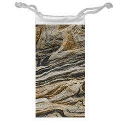 Rock Texture Background Stone Jewelry Bag
