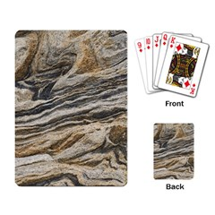 Rock Texture Background Stone Playing Card